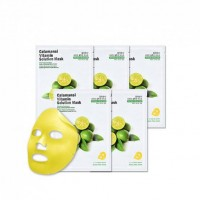 Маска для лица тканевая витаминная Eyenlip Calamansi Vitamin Solution Mask 25мл