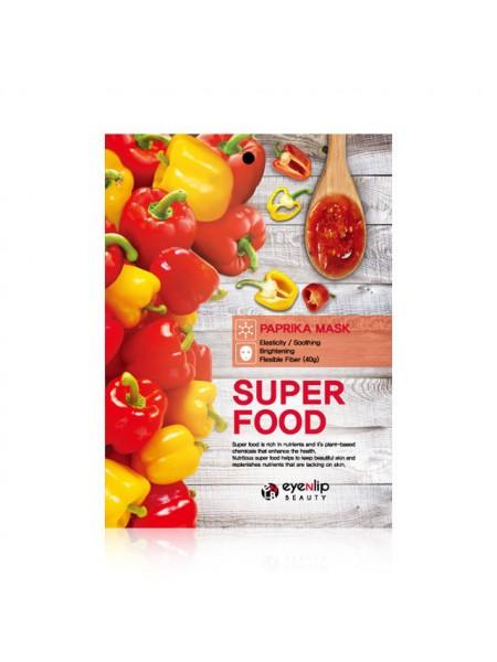 Тканевая маска с экстрактом перца  Eyenlip Super Food Paprika Mask  23мл