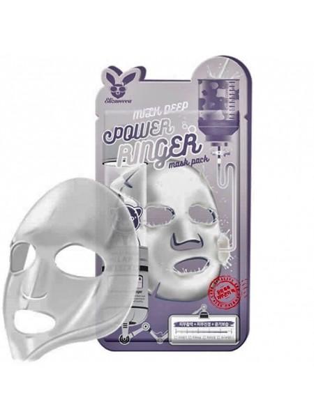 Тканевая маска с молоком ELIZAVECCA Milk Deep Power Ringer Mask Pack