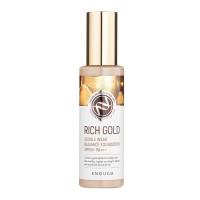 Тональная основа с золотом для сияния кожи Enough Rich Gold Double Wear Radiance Foundation