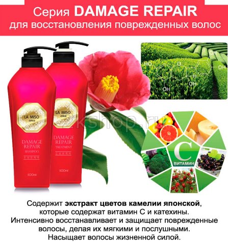 La Miso Demage Repair shampoo and treatment photo
