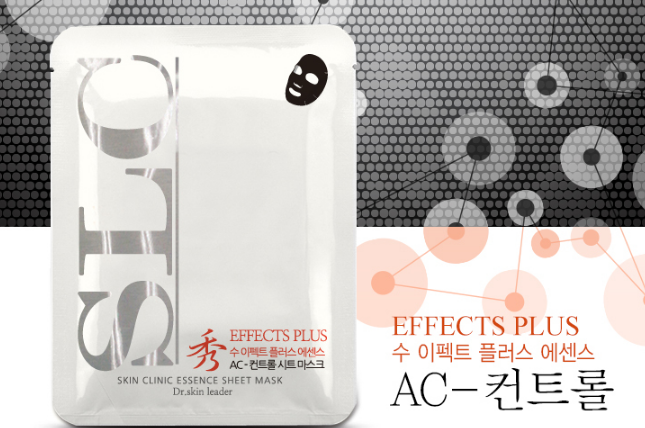 Anskin Soo Effect Sheet Mask - AC-Control  Маска для лица тканевая Акне -контроль