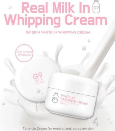 G9 White In Whipping Cream