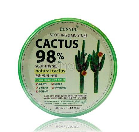EUNYUL Cactus Moisture Soothing Gel Многофункциональный успокаивающий гель с экстрактом кактуса