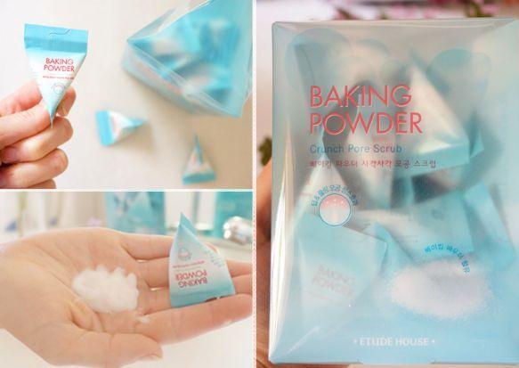 Etude house Baking Powder Crunch Pore Scrub Скраб для лица
