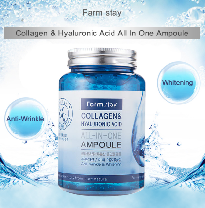 FarmStay Collagen&Hyaluronic Acid all-in-one Ampoule