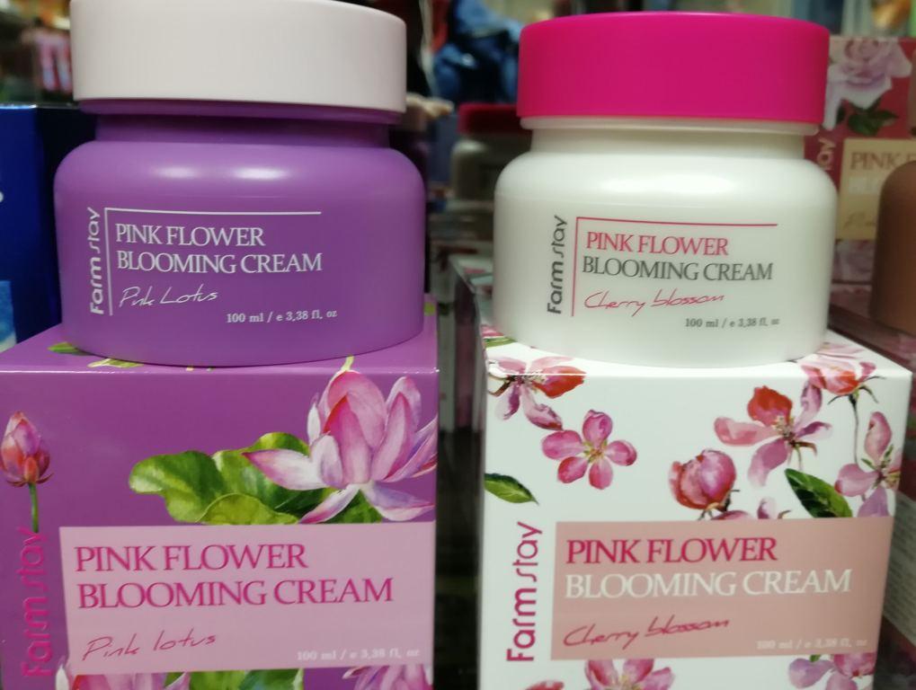 Farmstay Pink flower blooming cream