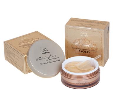 Misoli Hydrogel shinning Care Gold Eye Patch Маска для кожи вокруг глаз гидрогелевая с золотом