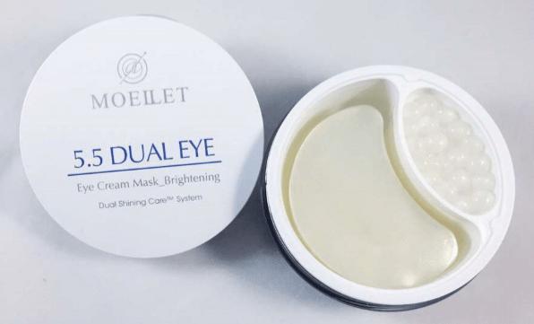 MOELLET 5,5  Dual Eye Премиальные гидрогелевые патчи с кремовой сывороткой