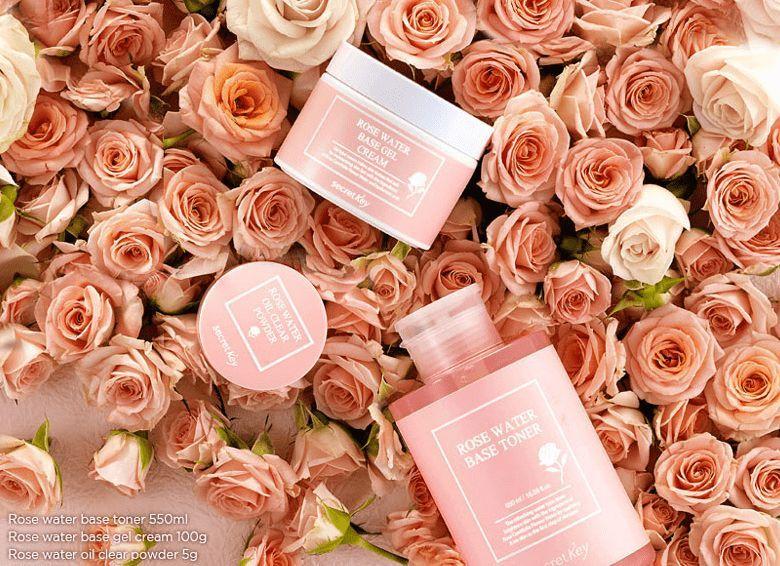 Гель-крем с розовой водой