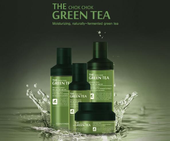Tony Moly The Chok Chok Green Tea Line