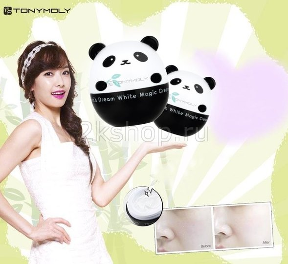 Tony Moly Panda's Dream White Sleeping pack ночная отбеливающая маска